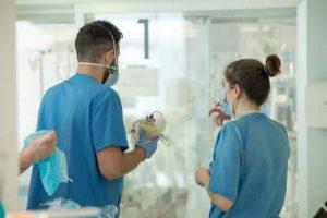 Se estabiliza el número de hospitalizados por Covid-19 en el centro de España