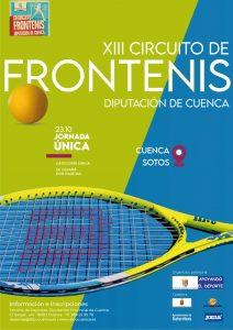 El XIII Circuito de Frontenis Diputación de Cuenca tendrá lugar el 23 de octubre
