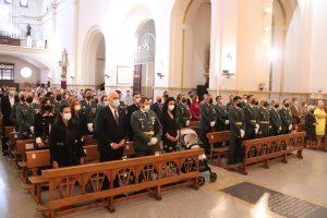 Corporación municipal de Manzanares acompaña este 12 de octubre a la Guardia Civil en el día de su patrona