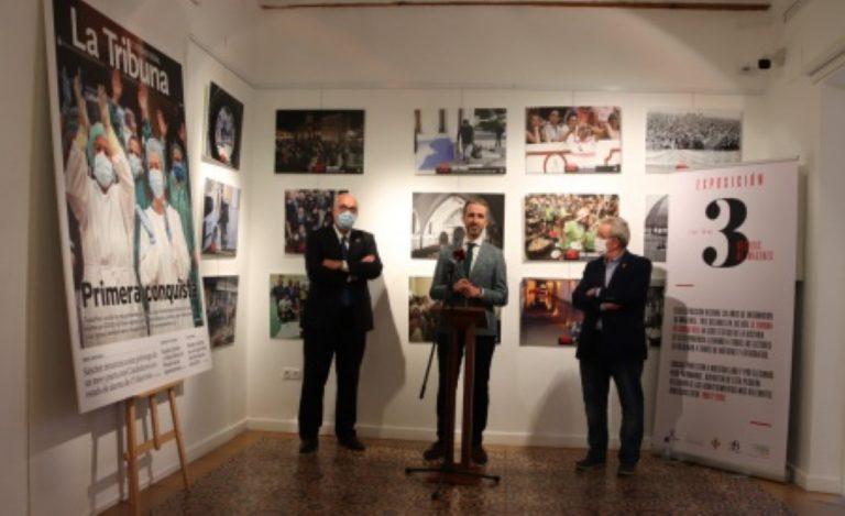 Exposición conmemorativa del 30 aniversario de 'La Tribuna de Ciudad Real' en Manzanares