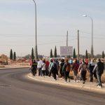 76 personas de Segunda Juventud participaron en un paseo de 4 kilómetros en Manzanares
