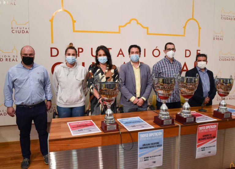 Trofeo Diputación de Fútbol Sala Femenino y Masculino el 12 de octubre en Valdepeñas